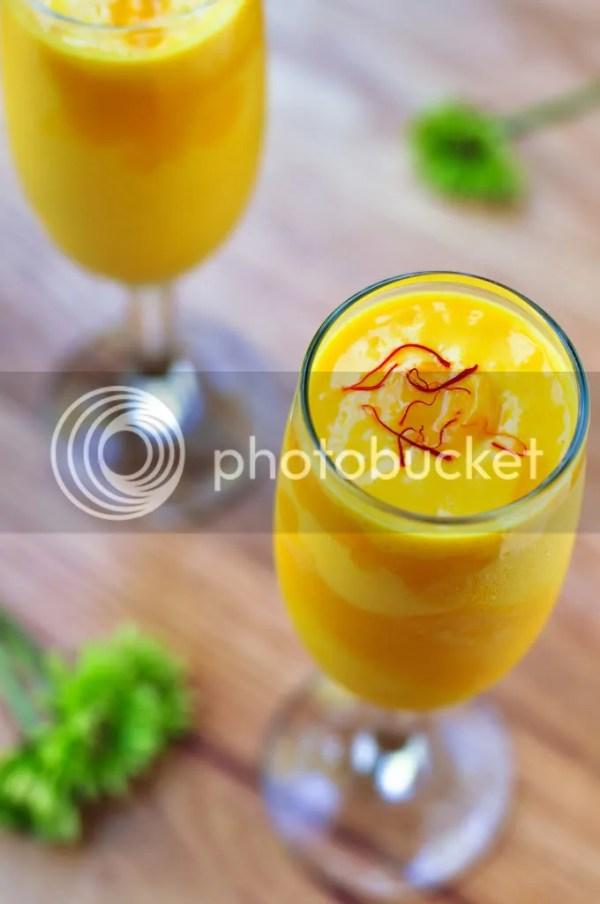 Mango Lassi Recipe (Low fat)