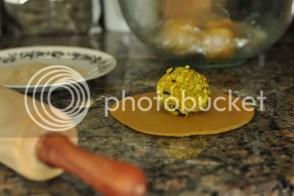 Stuff radish masala