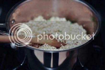 Quinoa Pilaf - Add Quinoa