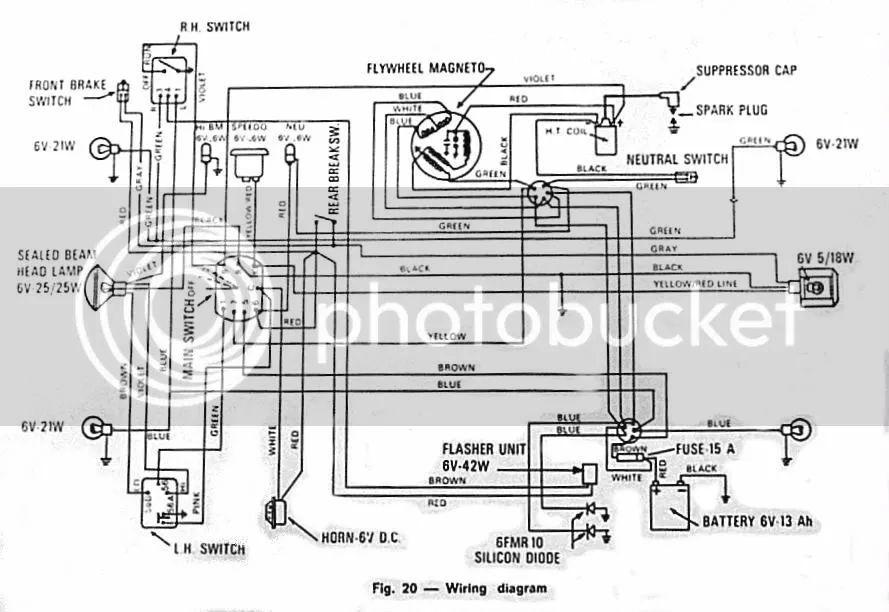 1980 bajaj chetak wiring diagram