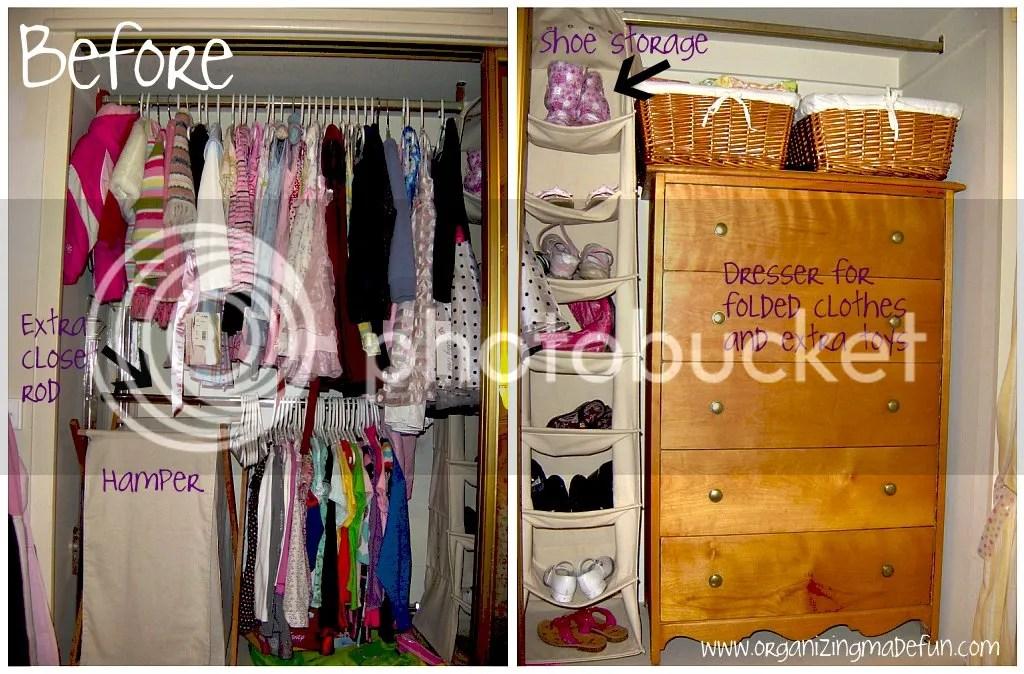 Kids' Closet Ideas And Help | Organizing Made Fun: Kids' Closet