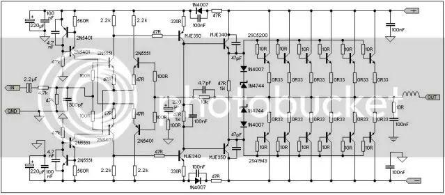 ampcircuits power amplifier 450w with sanken