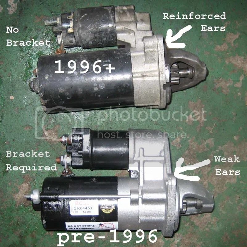 Replacing your starter in an E36? Read this!