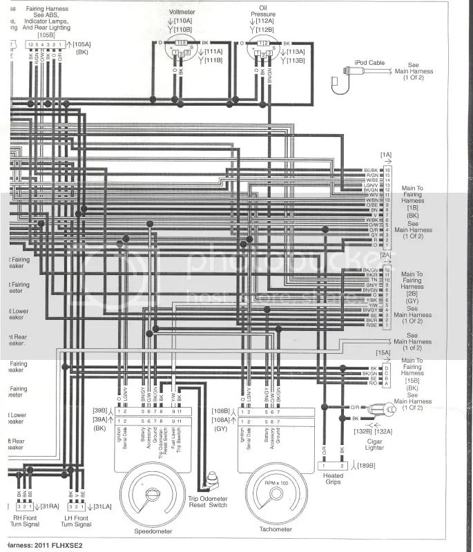 2011 harley davidson street glide stereo wiring diagram