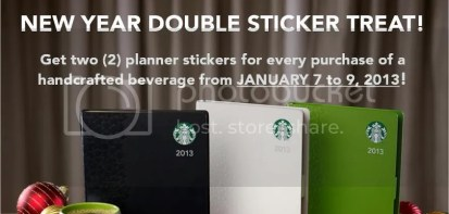Starbucks 2013 Planner