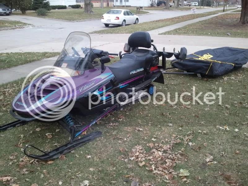 Ice Fishing Snowmobile Rack Wwwimagenesmycom