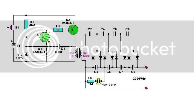 circuit diagram of zapper