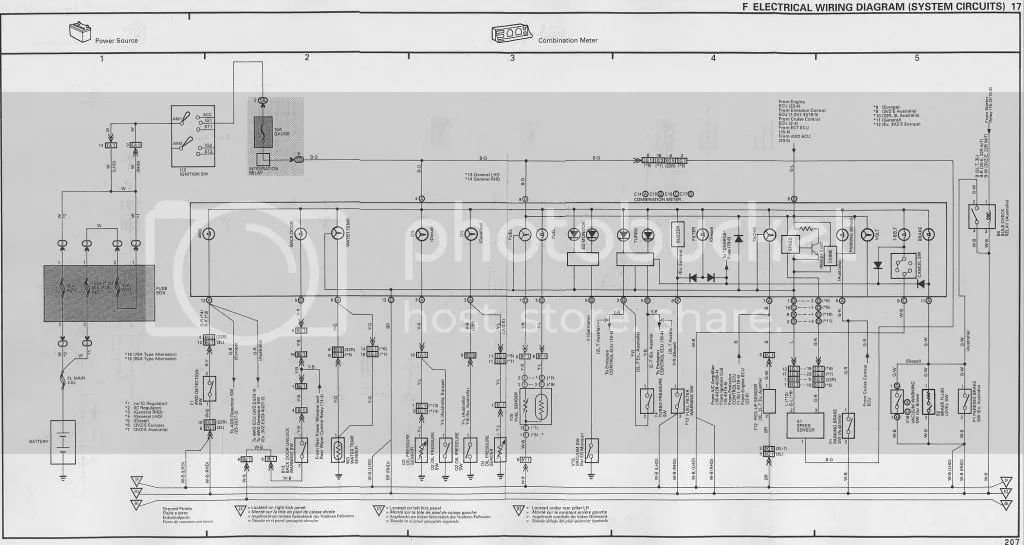wiring diagram toyota 1kz te