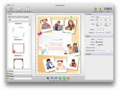 PearlMountain Picture Collage Maker 3.6.8 MacOS X coobra.net