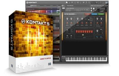 Native Instruments Kontakt 5 Factory Library v1.3.0.Update coobra.net