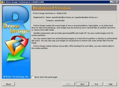 R-Tools R-Drive Image 6.1 Build 6100.Multilingual Portable