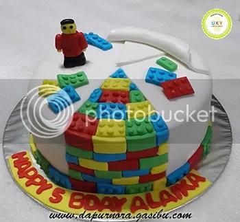 lego cake bandung