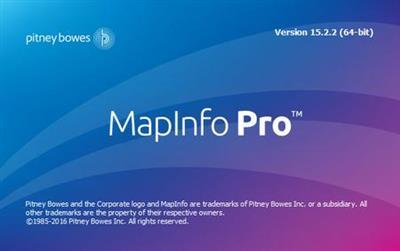 Pitney Bowes MapInfo Pro v16.0 Build.26 (x64)