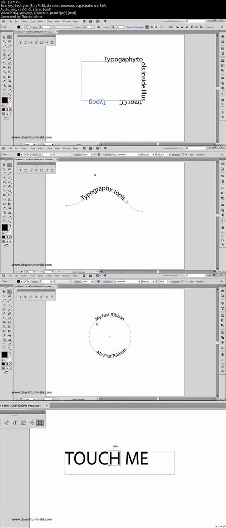 Every Illustrator Tool Explained The Typography Tools
