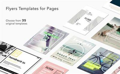Flyers Templates for Pages 1.2.MacOSX