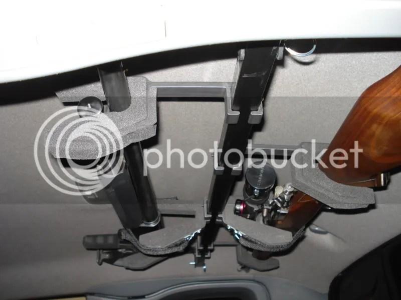 Toyota Tacoma Overhead Gun Rack