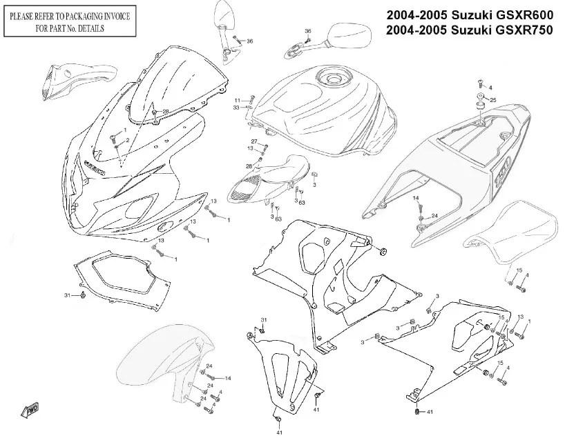 1999 gsxr 600 srad wiring diagram