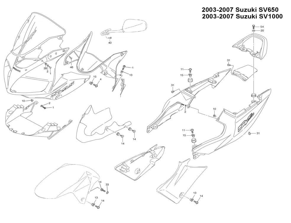 sv650 saddlebags