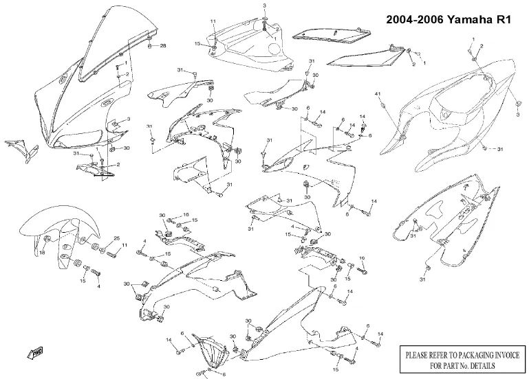 1999 yamaha r6 electrical diagram