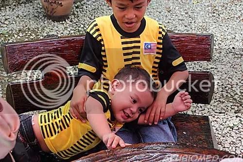 baby aslah dan abang ngah