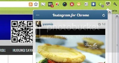 instagram di chrome
