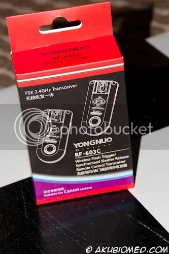 yongnuo rf 603c