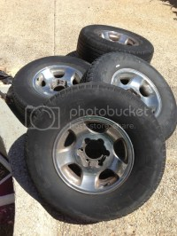 [San Antonio] FZJ 80 Chrome Rims with Tires - TTORA Forum