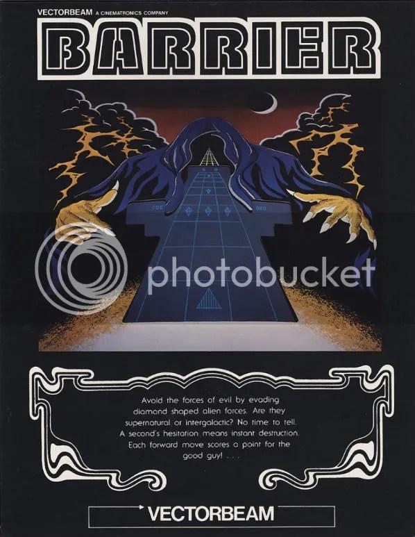 Barrier1-Arcade Flyer Archive
