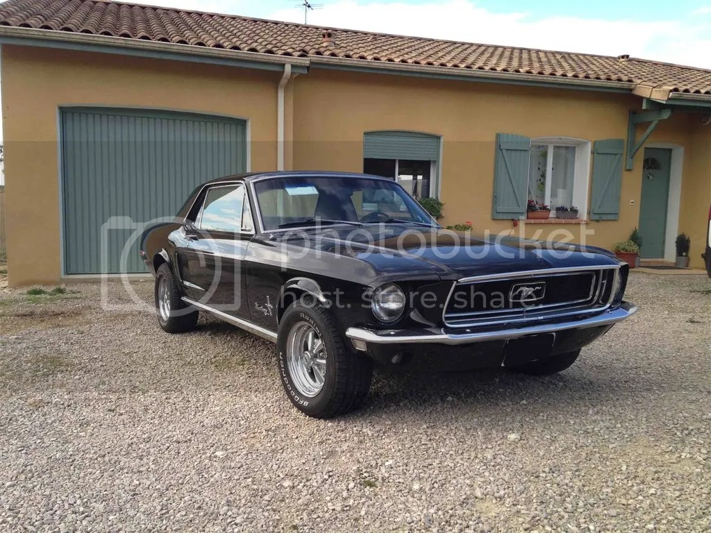 Cheminees Mustang Mustang Coupé 1968 Projets Restaurations Anciennes