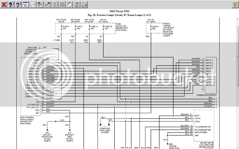 Wiring Diagrams 2004 Nissan 350z - Wiring Diagram Post on