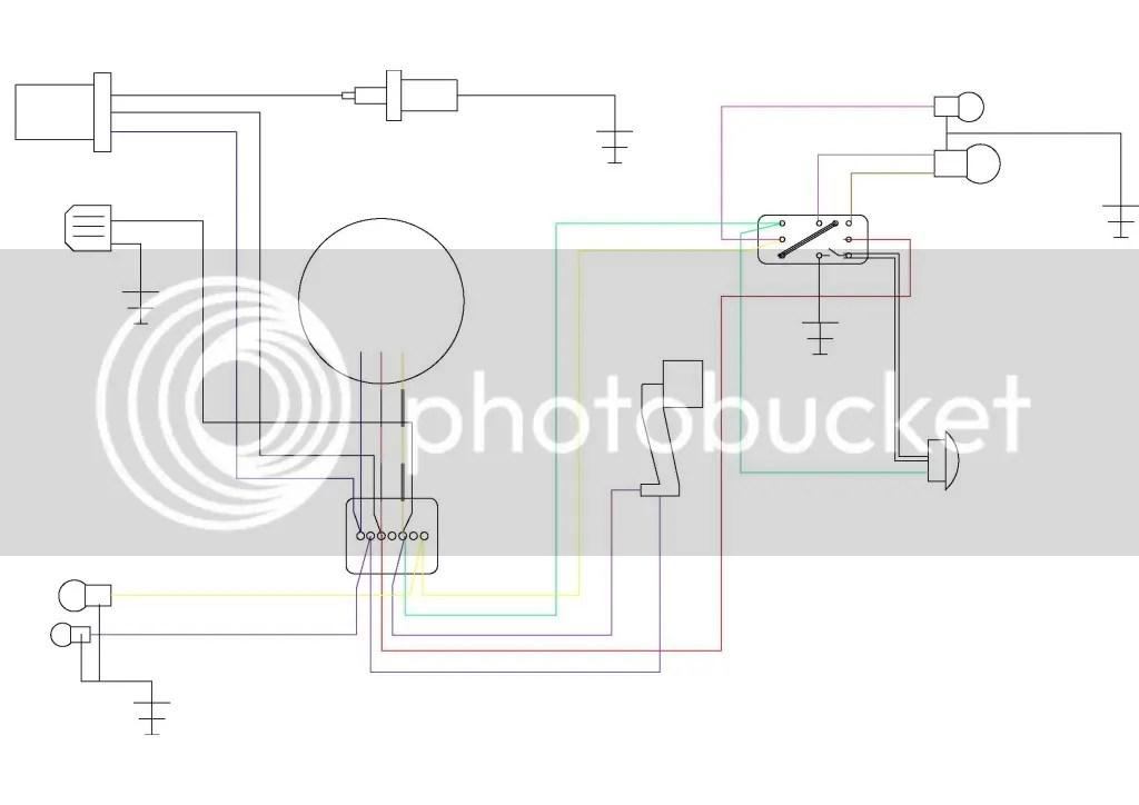 Beedies 12v conversion switch wiring diagram Vespa Smallframes