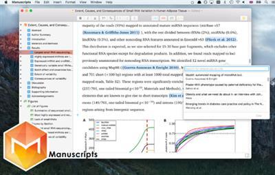 Manuscripts 1.1.4 MacOS X