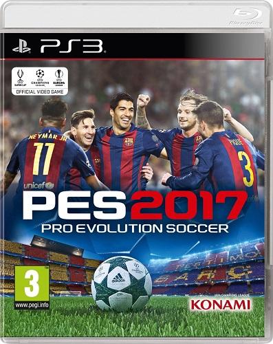 Pro Evolution Soccer 2017 PS3-DUPLEX