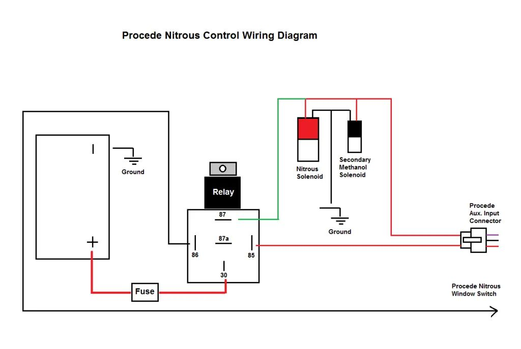 nos progressive wiring diagram