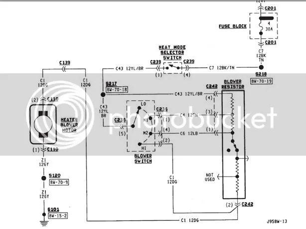 fan blower motor wire diagram