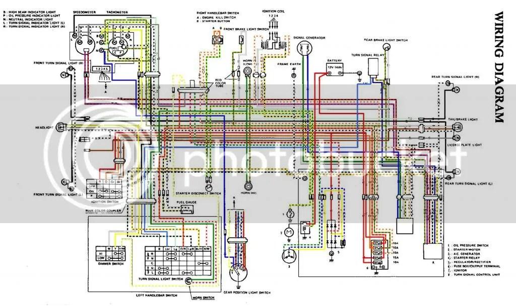 1980 Suzuki Wiring Diagram Schematic Online Wiring Diagram