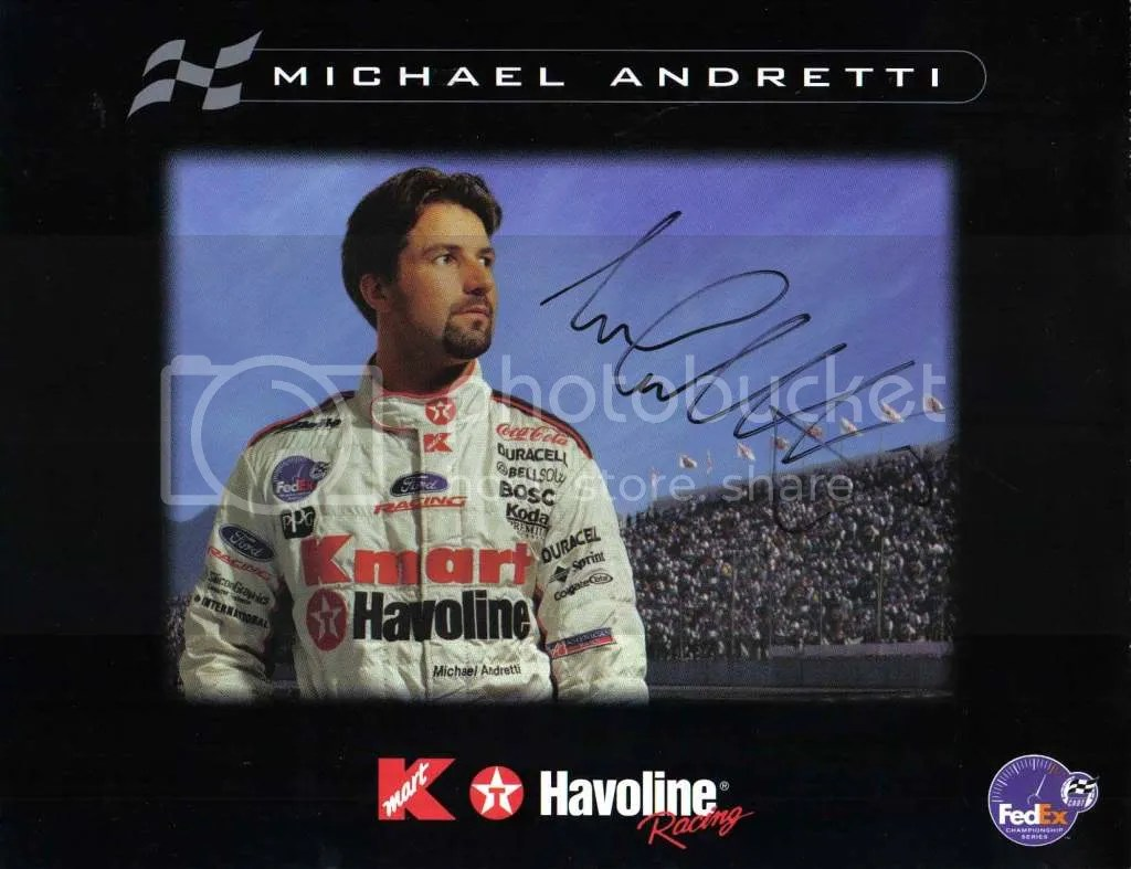 Kmart Photo Prints Michael Andretti Kmart Sponser Card Pictures Images