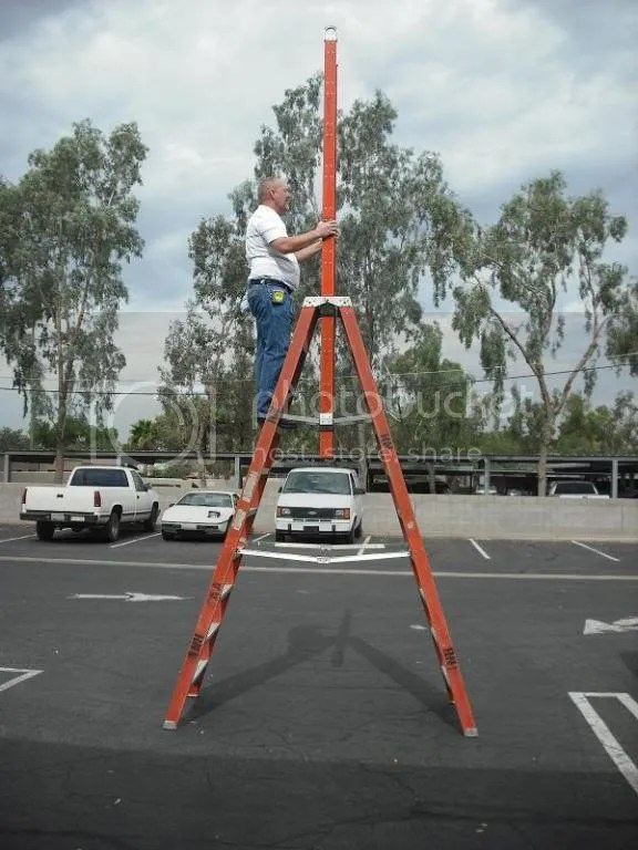 A Frame Extension Ladder 2 Photo By Nelsonholland