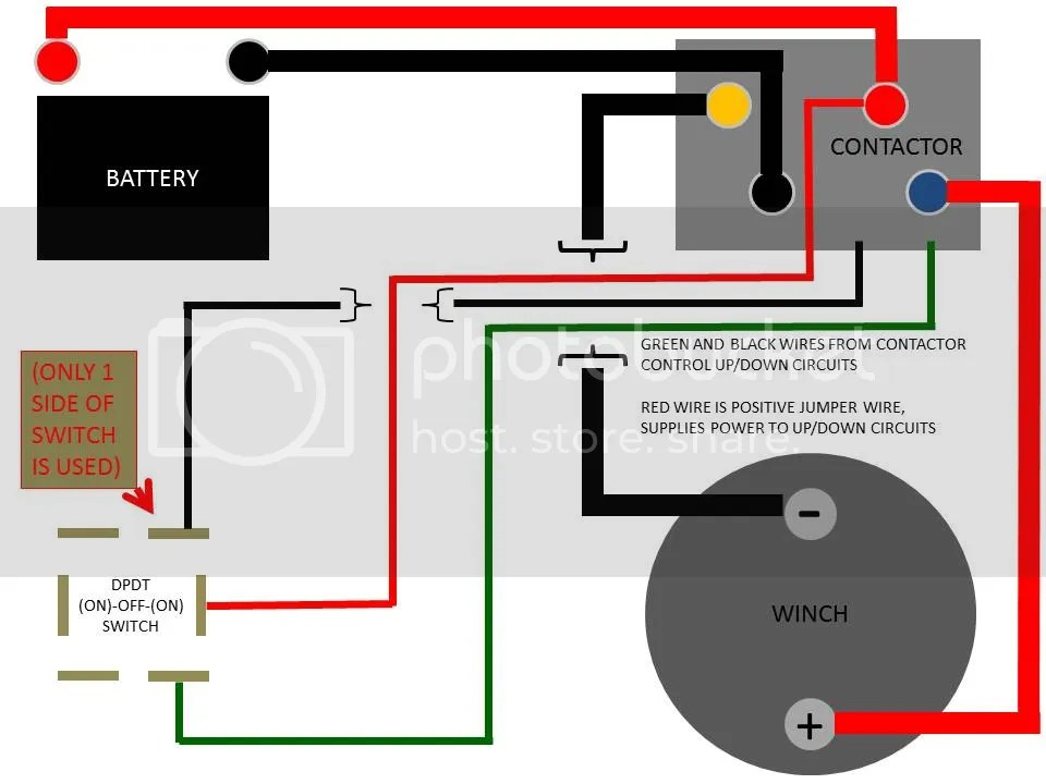 Winch Wire Diagram Relays Wiring Diagrams