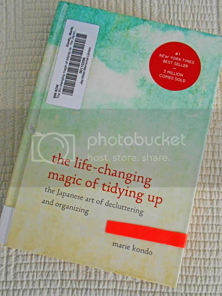 The Life Changing Magic Of Tidying Vanessa S Values What I M Reading The Life Changing Magic Of