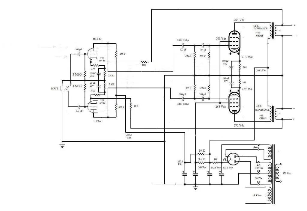 amp schematic 196 00 magnavox