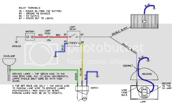 Hella Headlight Relay Wiring Diagram Hella light relay wiring