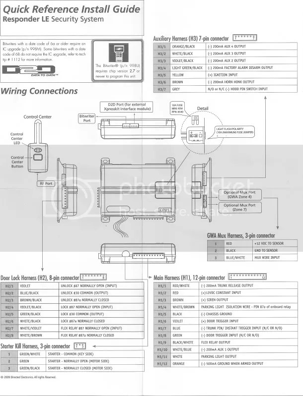 Viper 3203 Wiring Diagram Wiring Diagram