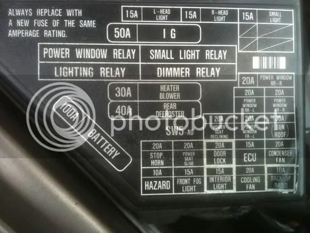 Acura Rsx Fuse Box Location Wiring Diagrams