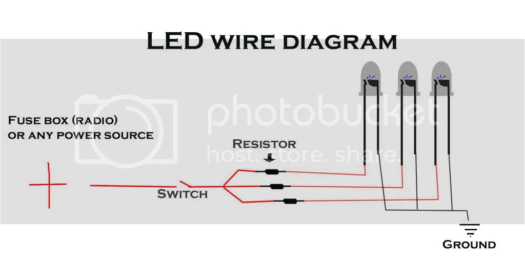 9v Led Wiring Diagram Wiring Diagram