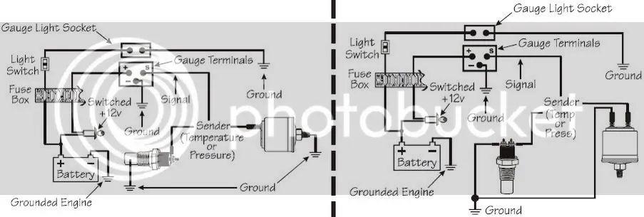vdo oil pressure gauge wiring diagram blue