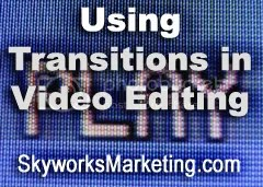 video editing,transitions,cut,wipe,fade,dissolve,crossfade