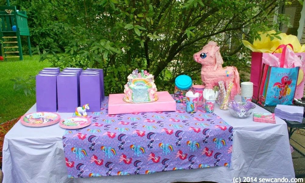 Sew Can Do Our More Fun, Less To Craft, My Little Pony Party