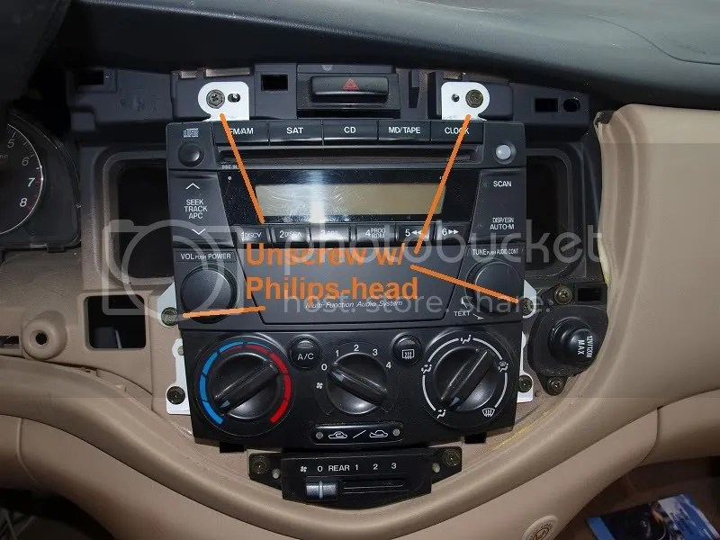 MPVClub  View topic - 2004 Mazda MPV Stereo Audio Wiring Guide