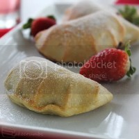 Strawberry and Nutella Mini-Calzones